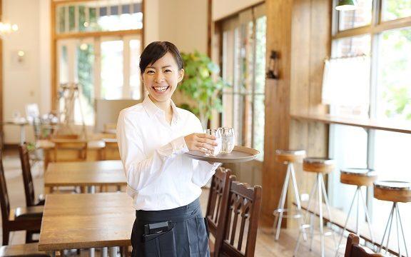 喫茶店舗のスタッフ【TB-N33】